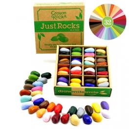 Crayon Rocks, Kredki w pudełku 64 sztuki – 32 kolory
