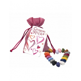 Crayon Rocks, Kredki VALENTINE bag – 20 kredek