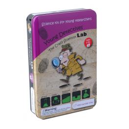 The Purple Cow Zestaw do robienia eksperymentów – Młody detektyw