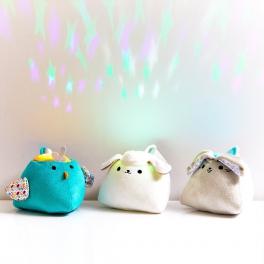 Koo-di Projektor z pozytywką Little Lumies PurFlo-3 kolory