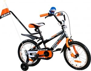 Rower BMX Rbike 3-16 grey-orange