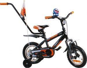 Rower BMX Rbike 4-12 black-orange