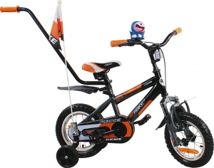 Rower BMX Rbike 4-12 black-orange