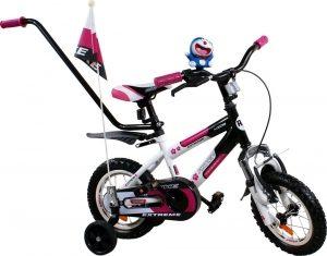 Rower BMX Rbike 4-12 white-purple