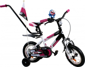 Rower BMX Rbike 4-12 white-purple