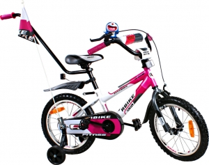 Rower BMX Rbike 3-16 white-purple