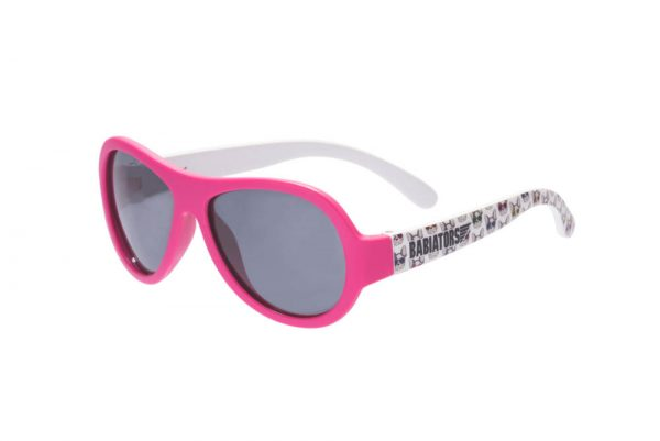 Babiators Okulary przeciwsłoneczne dla dzieci z polaryzacją  Puppy Love różowe