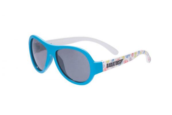 Babiators Okulary przeciwsłoneczne dla dzieci z polaryzacją The Wheel Deal niebieskie