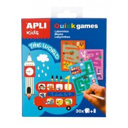 Apli Kids Gra podróżna – Labirynty Świat