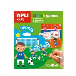 Apli Kids- podróżna – Znajdź różnice Sport