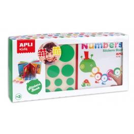 Apli Kids Moja pierwsza książka z naklejkami – Liczby