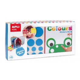 Apli Kids Moja pierwsza książka z naklejkami – Kolory