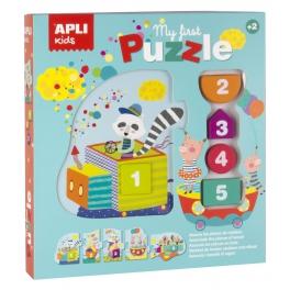 Apli Kids Moje pierwsze puzzle – Pociąg 2+