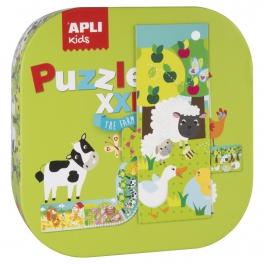 Apli Kids  Puzzle XXL- Farma 3+
