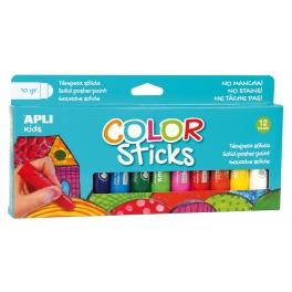 Apli Kids Farby w kredce – 12 kolorów