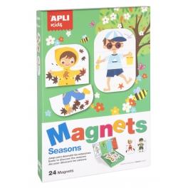 Apli Kids magnetyczna układanka – Pory roku