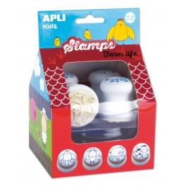 Apli Kids Pierwsze stempelki – Farma 18m+