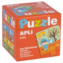 Apli Kids  Puzzle dla dzieci – Pory roku 3+