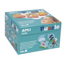 Apli Kids Puzzle dla dzieci – Sporty 3+