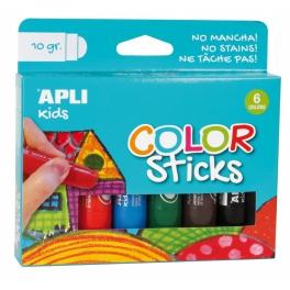 Apli Kids Farby w kredce – 6 kolorów