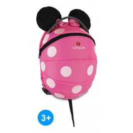 LittleLife Duży Plecak  Disney Myszka Minnie – PINK