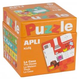 Apli Kids Puzzle dla dzieci – W domu 3+