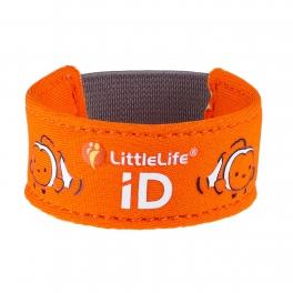 LittleLife Neoprenowa opaska informacyjna ID- rybka nemo