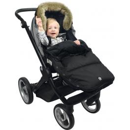 Dooky  Śpiwór do wózka Black Furry 6-36m
