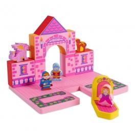 BathBlocks Zabawka do kąpieli – Zamek księżniczki 17 elementów