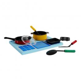 BathBlocks zabawka do kąpieli- Pływająca kuchnia 8 elementów