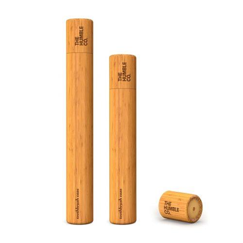 Humble brush, Etui na szczoteczkę do zębów z drzewna bambusowego dla dzieci