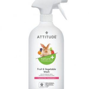 Attitude Płyn do mycia owoców i warzyw, Bezzapachowy 475 ml