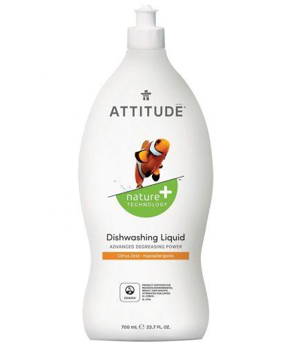 Attitude, Płyn do mycia naczyń, Skórka Cytrynowa 700 ml