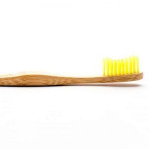Humble Brush Bambusowa szczoteczka do zębów dla dorosłych, żółta