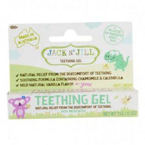 Jack N'Jill, Naturalny żel łagodzący ząbkowanie 15g