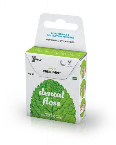 Humble Brush- Nić dentystyczna o smaku mietolowym, 50 m