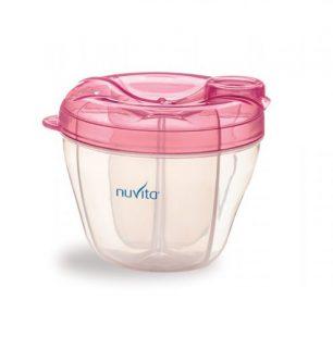 Nuvita, Pojemnik na mleko- różowy