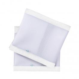 PurFlo Oddychający ochraniacz do łóżeczka Pur Air – Soft White