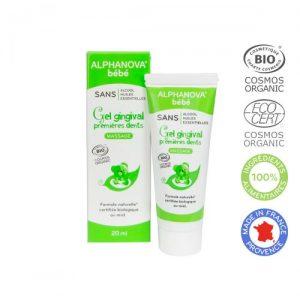Alphanova Bebe- Organiczny żel łagodzący ząbkowanie 20 ml