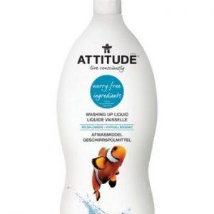 Attitude- Płyn do mycia naczyń, Kwiaty Polne (Wildflowers) 700 ml