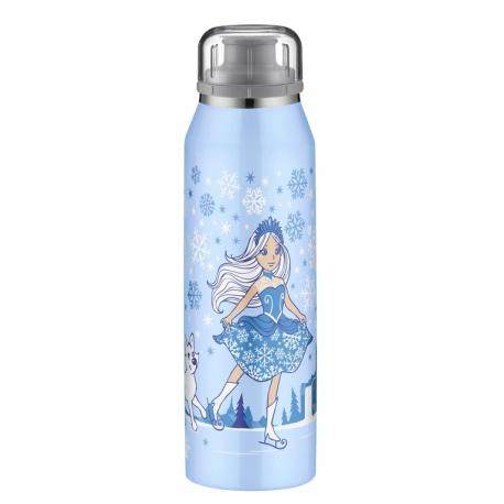 ALFI Bidon termiczny dla dzieci isoBottle  0,5l- niebieska księżniczka- model 2018