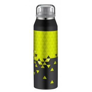 ALFI Bidon termiczny dla dzieci isoBottle  0,5l, czarno-limonkowy/ model 2018