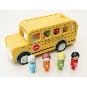 Drewniany autobus Benjego Indigo Jamm