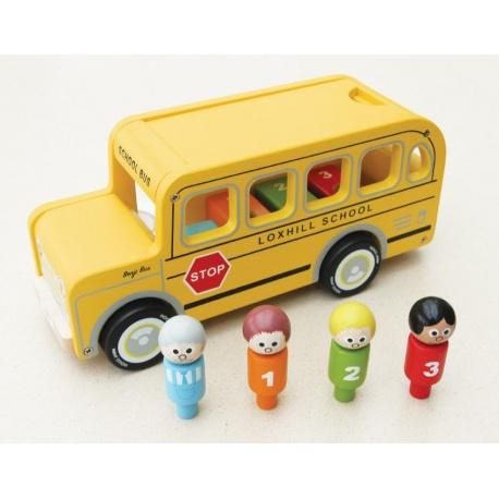 Indigo Jamm- Drewniany autobus Benjego