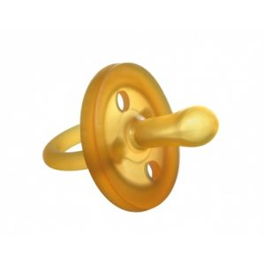 Nowość Goldi- Ekologiczny kauczukowy smoczek uspokajacz – symetryczny od 3mcy