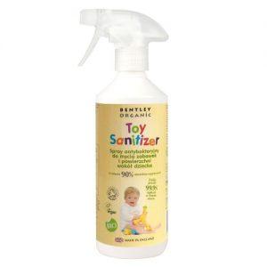 Spray dezynfekujący do mycia zabawek Bentley Organic 500ml