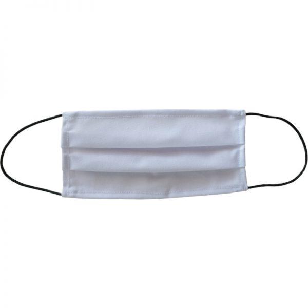 Maseczka bawełniana biała wielorazowa uniwersalna
