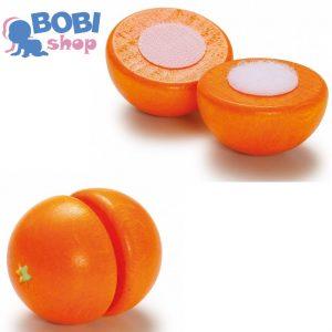 Drewniana pomarańcza do krojenia Erzi
