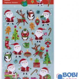 Zestaw świątecznych naklejek Apli Kids Święty Mikołaj 31 szt.